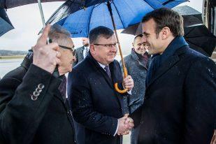prezydent francji w krakowie