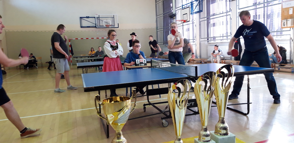 Podegrodzie - turniej tenisa stołowego