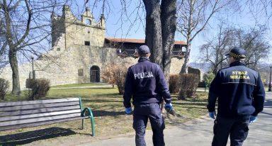 Sądeccy policjanci patrolują parki