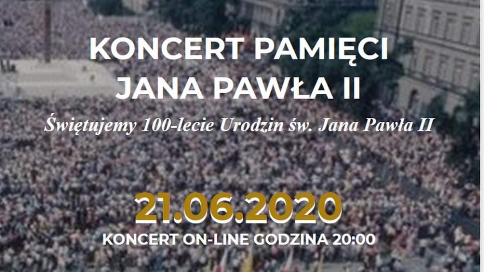 międzynarodowy koncert z okazji 100-lecia urodzin św. Jana Pawła II
