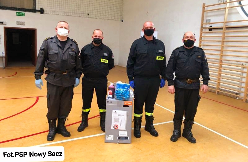 Sprzęt ochronny dla strażaków z gminy Podegrodzie