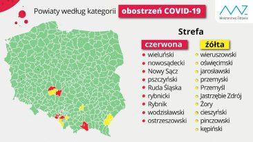 Gmina Podegrodzie w czerwonej strefie Covid-19
