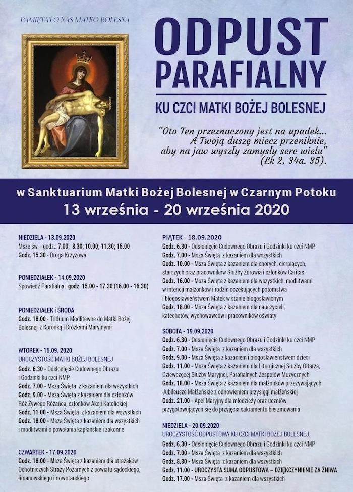 Odpust parafialny Czarny Potok