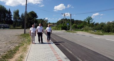 powiat - remonty dróg, także w gminie Podegrodzie
