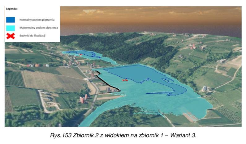 Wariatnt 3 budowy zbiornika retencyjnego