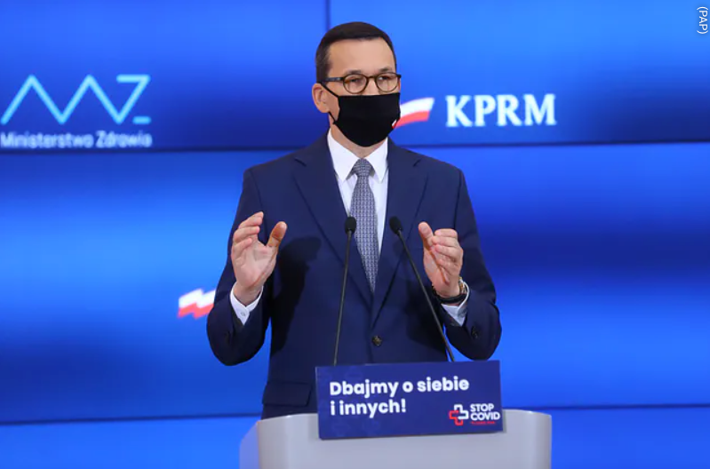 Mateusz Morawiecki - konferencja, nie będzie ponownego lockdownu