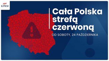 Cała Polska czerwoną strefą