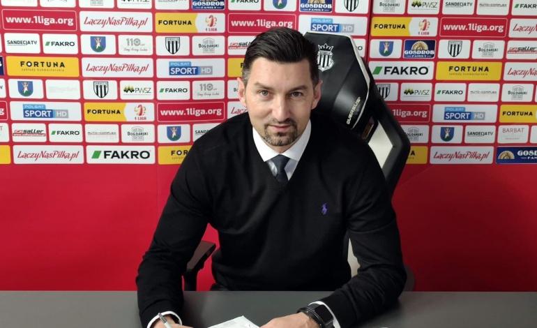 Dariusz Dudek trenerem Sandecji