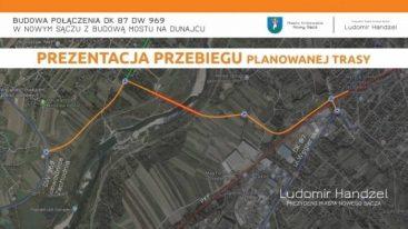 Nowy most nad Dunajcem