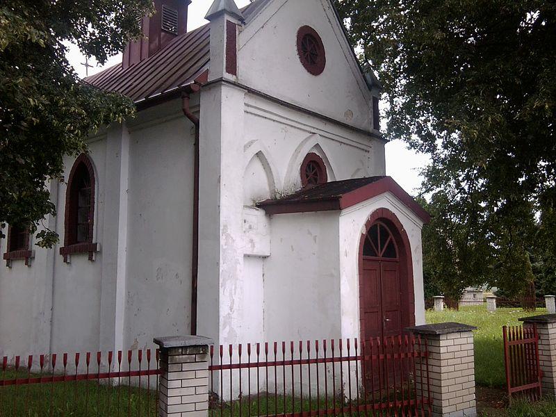 Podrzecze - kaplica św. Franciszka z Asyżu