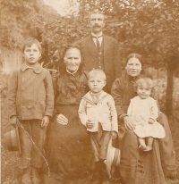 Karol Czernkowski z rodziną