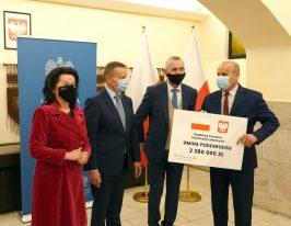 Środki dla gminy Podegrodzie z Rządowego Funduszu Inwestycji Lokalnych