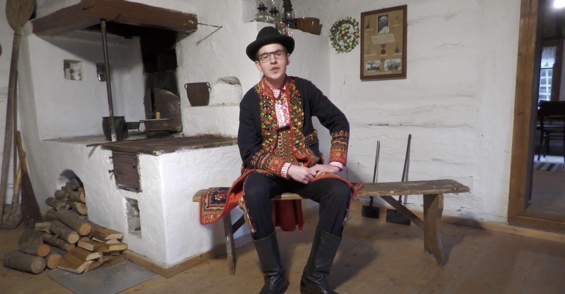 Kuba Pajor z Podegrodzia w VI ogólnopolskim konkursie na gadkę
