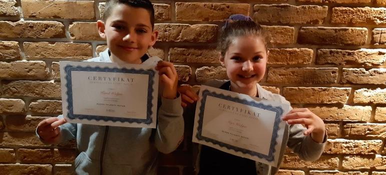 Sukces uczniów Szkoły Podstawowej w Podegrodziu
