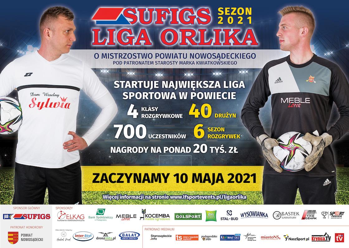 Startuje Sufigs Liga Orlika 2021