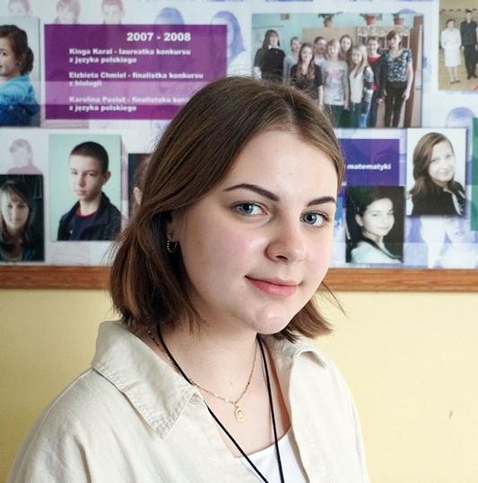 Sukces uczennicy Szkoły Podstawowej w Podegrodziu