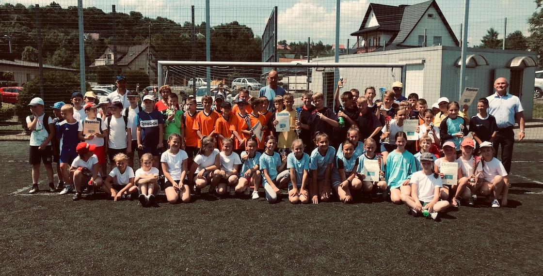 Mistrzostwa Gminy Podegrodzie w Piłce Nożnej - Igrzyska Dzieci
