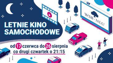 WSB organizuje w Nowym Sączu Letnie Kino Samochodowe 2021
